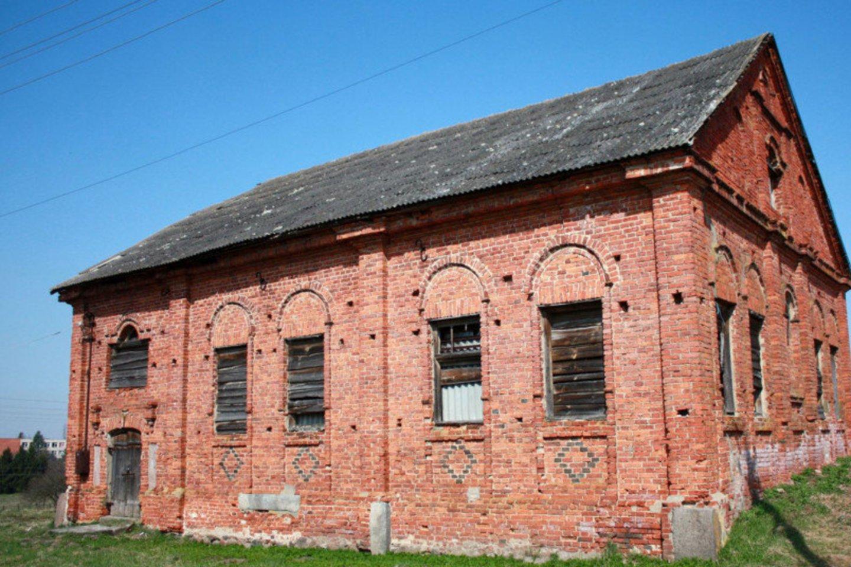 Čekiškės sinagoga, kurios rekonstrukcijos darbus planuojama baigti 2023 m.<br>Kauno rajono savivaldybės nuotr.