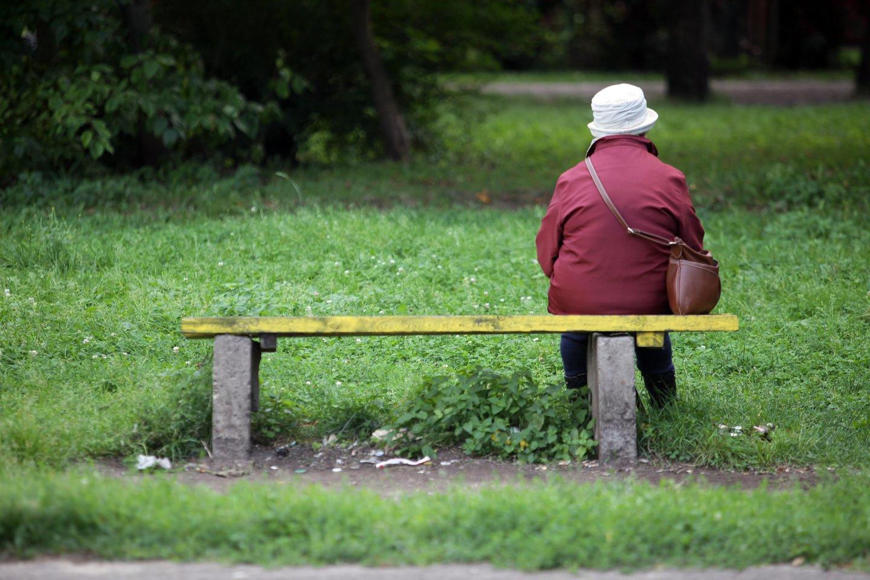 """Nuo liepos mėnesio vieniši šalpos pensijų gavėjai ir mažų pensijų priemokų gavėjai galės kreiptis į """"Sodrą"""" dėl vienišo asmens išmokos.<br>V.Balkūno nuotr."""