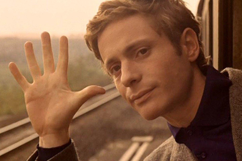 """""""Filmas apie meilę"""".<br>Filmo kadras."""