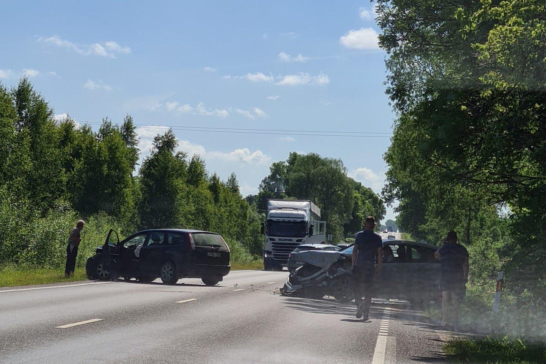 Praėjusios paros avarijose žuvo 2 žmonės, dar 17 buvo sužalota.<br>Akvilės B. nuotr.