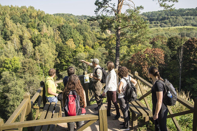 Išskirtiniu gamtos grožiu ir unikalumu išsiskiriančiame mūsų krašte tikrai yra kur apsilankyti ir ką pamatyti.<br>Organizatorių nuotr.