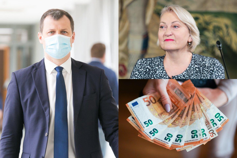 Seimo socialdemokratai toliau remia prie sienos Vyriausybę dėl kylančių kainų.<br>Lrytas.lt fotomontažas.
