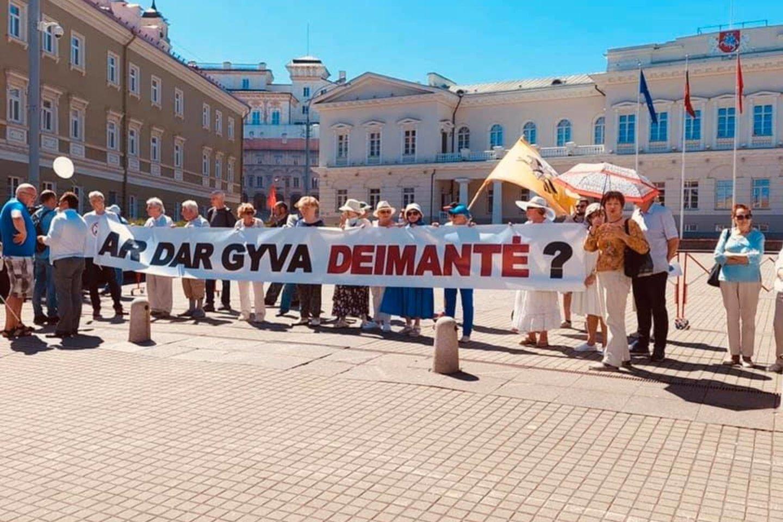 Trečioji protesto diena.<br>A.Liubertaitės nuotr.