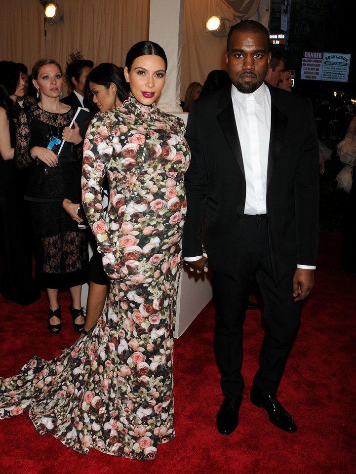 Kim Kardashian ir Kanye Westas.<br>Gilbert Flores/Broadimage/scanpix nuotr.