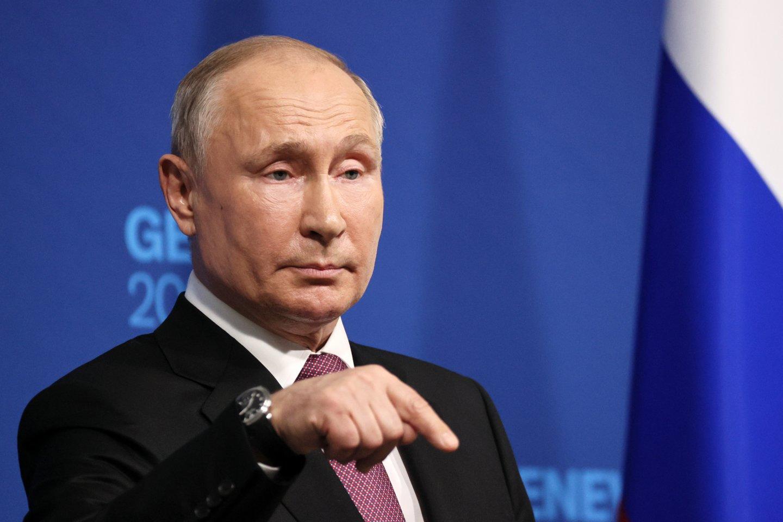 V.Putinas.<br>TASS/Scanpix nuotr.