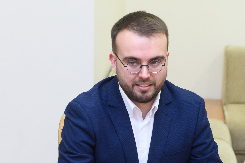 Prezidento patarėjas Povilas Mačiulis.<br>V.Skaraičio nuotr.
