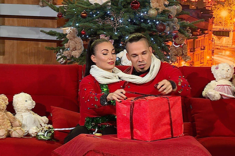 Karina Krysko ir Jeronimas Milius.<br>TV3 nuotr.