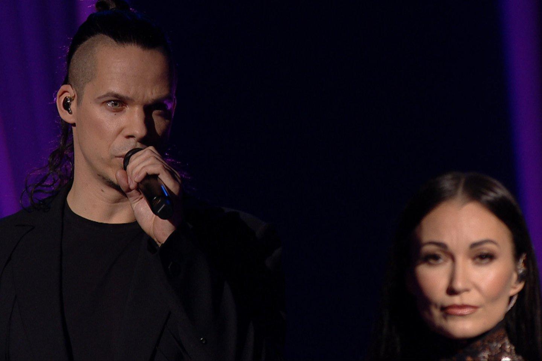 Karina Krysko ir Jeronimas Milius.