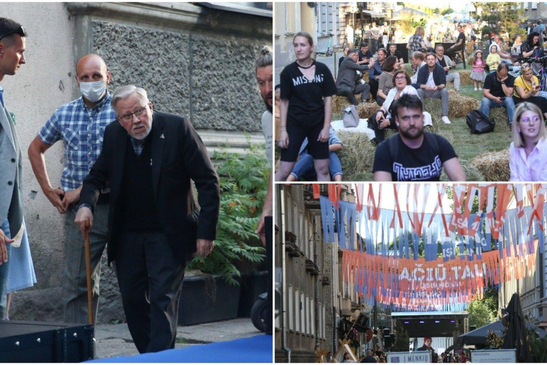 Po metų pertraukos į Islandijos gatvę grįžo tradicinė šventė: dalyvavo ir V. Landsbergis.<br>R.Danisevičiaus nuotr.