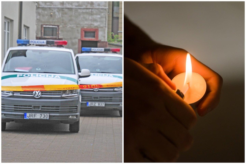 Vilniuje rasti mirusių motinos ir sūnaus kūnai.<br>Lrytas.lt fotomontažas