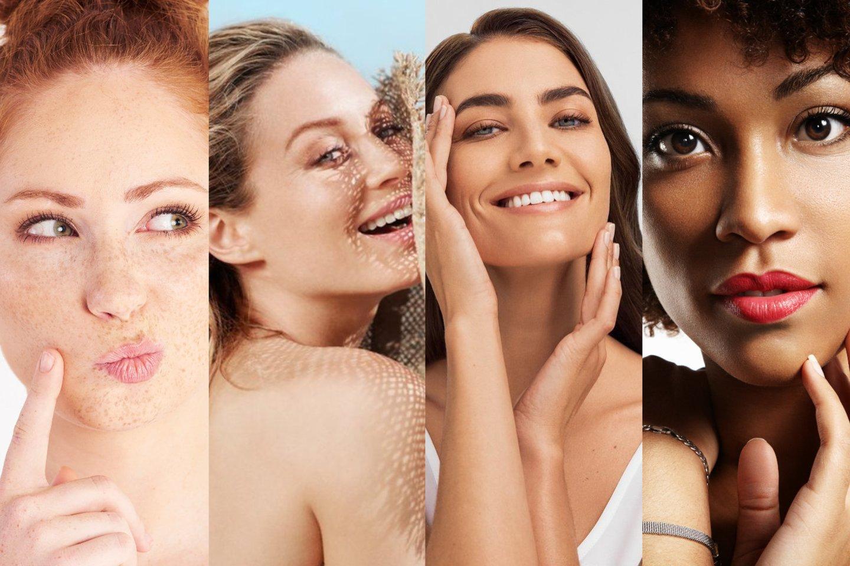 Pasaulyje remiamasi odos fototipų klasifikacija.<br>Lrytas.lt montažas