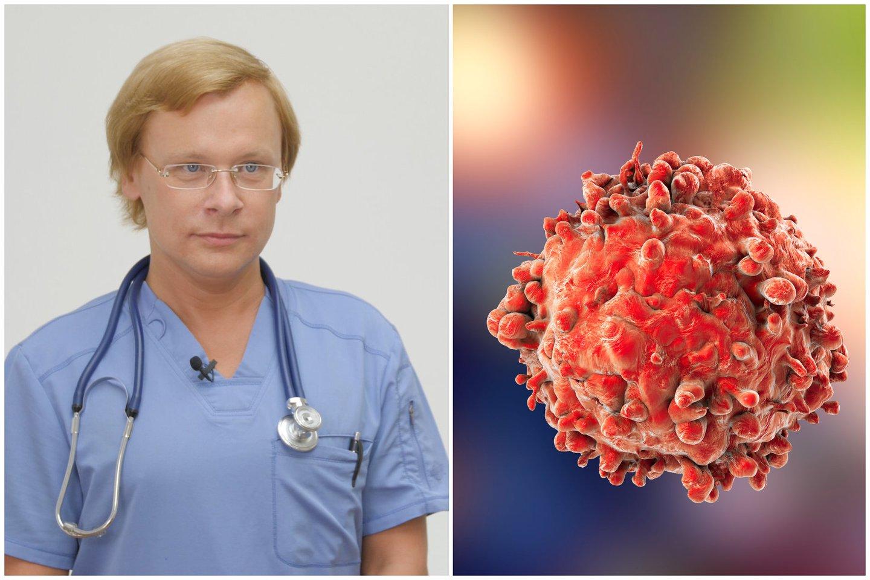 Vėžio ligos diagnozę išgirsta net ir jauni, sportiški, sveikai besimaitinę žmonės.<br>123rf nuotr. ir lrytas.lt nuotr. koliažas