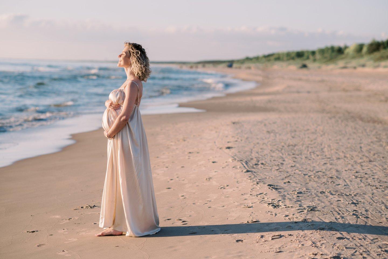 Liucina Rimgailė džiaugiasi tobulu nėštumu ir puikia savijauta.<br>Asmeninio albumo nuotr.