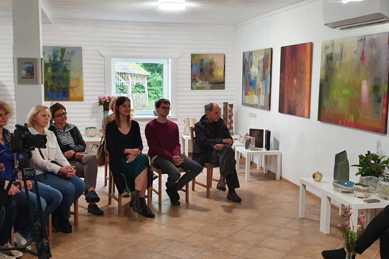 Giedros galerija įsikūrė Alantos pašonėje.<br>T.Juknevičiaus nuotr.