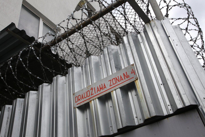 Įkliuvo telefonus ir narkotikus kūno ertmėse laikęs kalinys.<br>V.Balkūno asociatyvi nuotr.