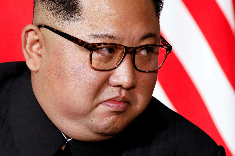 Kim Jong-unas.<br>REUTERS/Scanpix nuotr.
