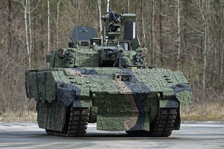 """Šiuo metu kuriamas šarvuotis """"Ajax"""" Jungtinės Karalystės kariuomenei bus labai svarbus.<br>Wikimedia commons"""