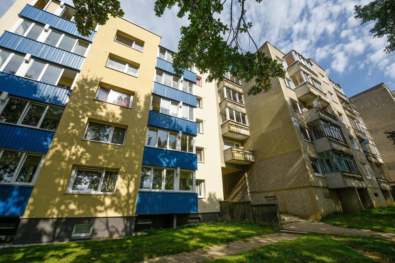 Nepaisant itin spartaus būsto kainų kilimo, gyventojų galimybės įpirkti būstą išlieka geros.<br>D.Umbraso nuotr.