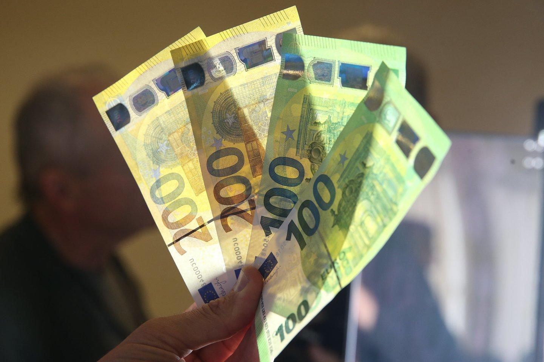 Kauno policija vis dar aiškinasi, kam priklauso dvylikametės surasti pinigai.<br>R.Danisevičiaus asociatyvi nuotr.
