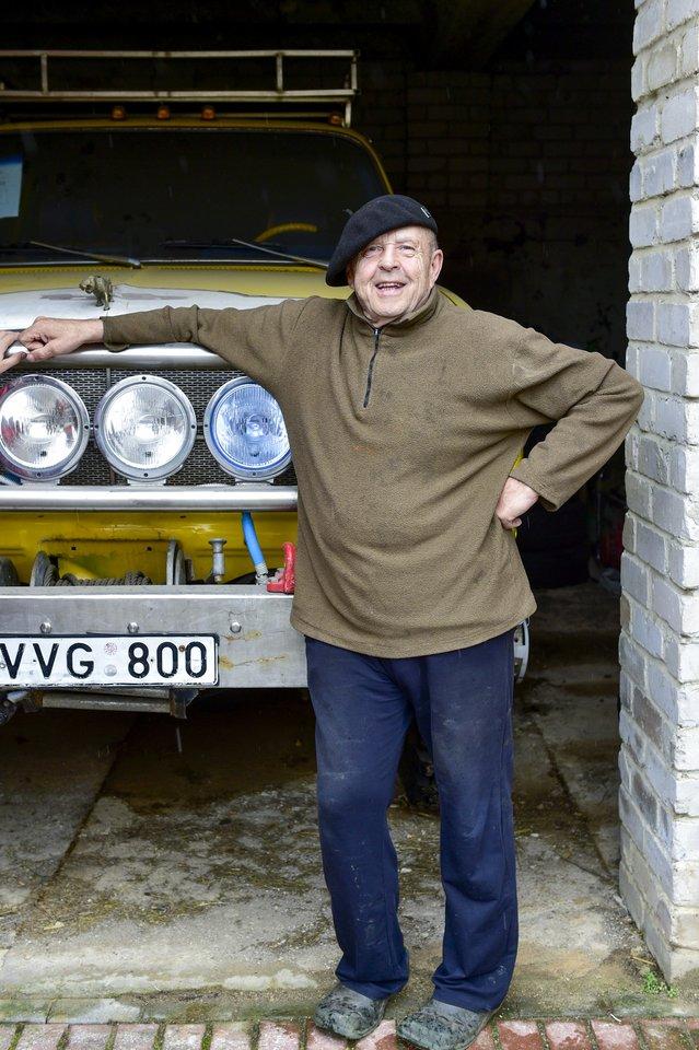 """Į renginius K.Masilionis mėgsta vykti 3,6 tonos sveriančiu visureigiu """"Chevrolet Suburban"""".<br>V.Ščiavinsko nuotr."""
