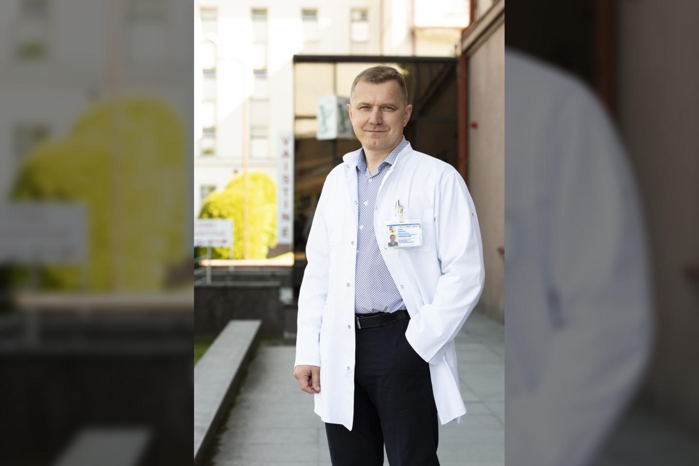 Tomas Vanagas<br>Kauno klinikų nuotr.