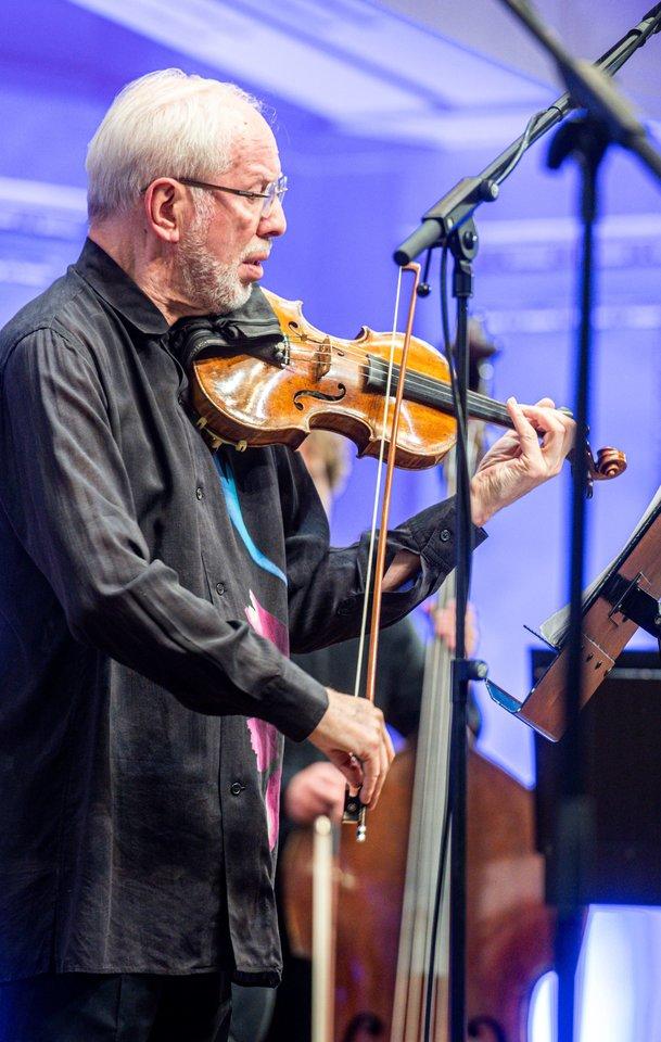 """G.Kremeris – orkestro """"Kremeratai Baltica"""" įkūrėjas ir vadovas.<br>D.Matvejevo nuotr,"""