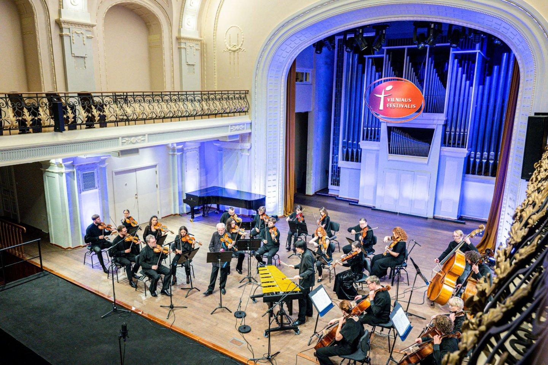 "Vilniaus festivalyje koncertavo kamerinis orkestras ""Kermerata Baltica"".<br>D.Matvejevo nuotr,"