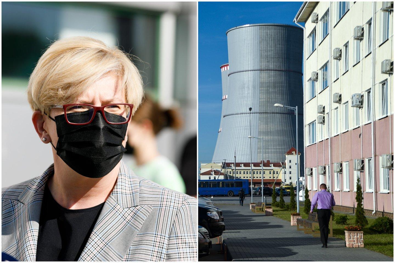 Pasak I.Šimonytės, jai svarbu įsitikinti, kad politiškai dėl Astravo su latviais nėra skirtingų požiūrių.<br>Lrytas.lt montažas.