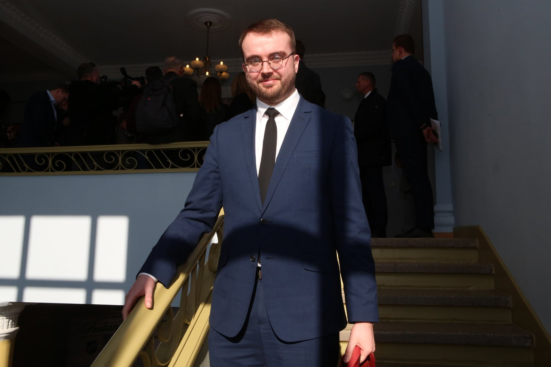 Povilas Mačiulis, prezidento patarėjas<br>M.Patašiaus nuotr.