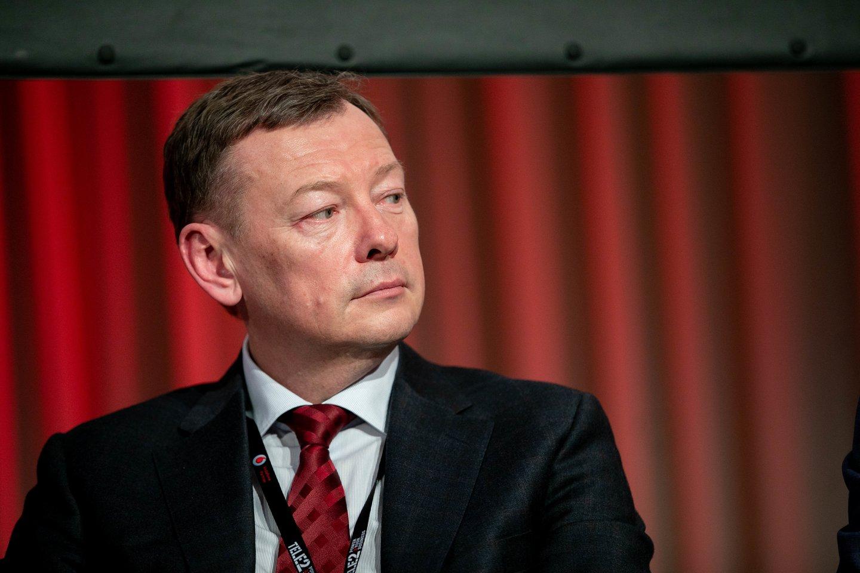 Lietuvos pramonininkų konfederacijos prezidentas Vidmantas Janulevičius.<br>D.Umbraso nuotr.