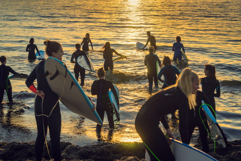 Tarptautinę banglenčių dieną Melnragė taps mažaja Kalifornija.