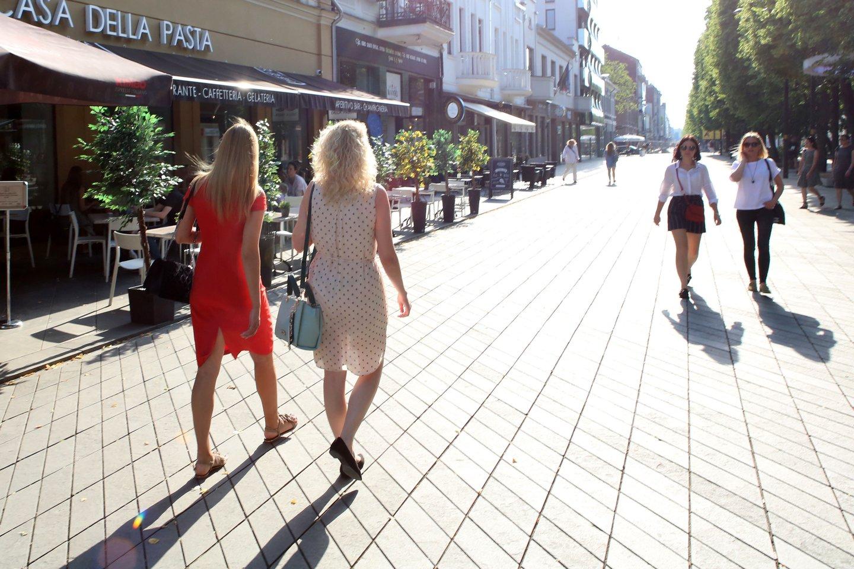 Lietuvoje kepina vasariška kaitra.<br>M.Patašiaus nuotr.