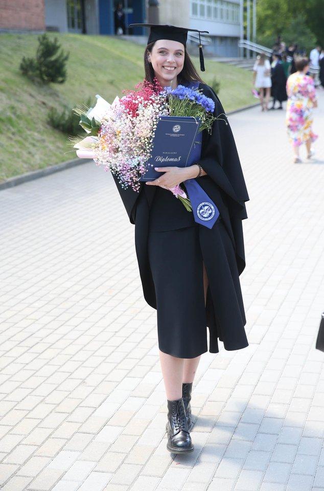 Diplomų įteikimo šventė<br>R.Danisevičiaus nuotr.