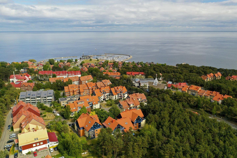 Viename iš Lietuvos miestų vasara net 10 dienų ilgesnė.<br>V.Ščiavinsko nuotr.