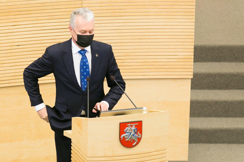 Gitanas Nausėda<br>T.Bauro nuotr.