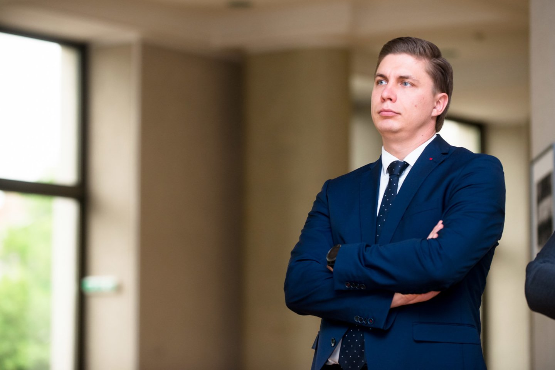 Mindaugas Sinkevičius<br>J.Stacevičiaus nuotr.