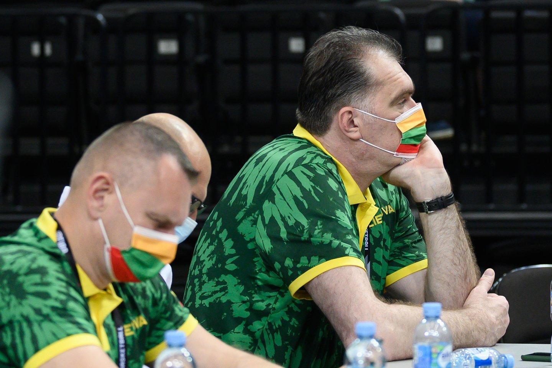 Lietuvos ir Dominikos Respublikos rungtynės.<br>V.Skaraičio nuotr.