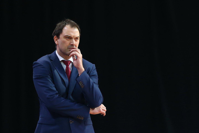 Panevėžio klubo treneris N.Čanakas.<br>G.Šiupario nuotr.