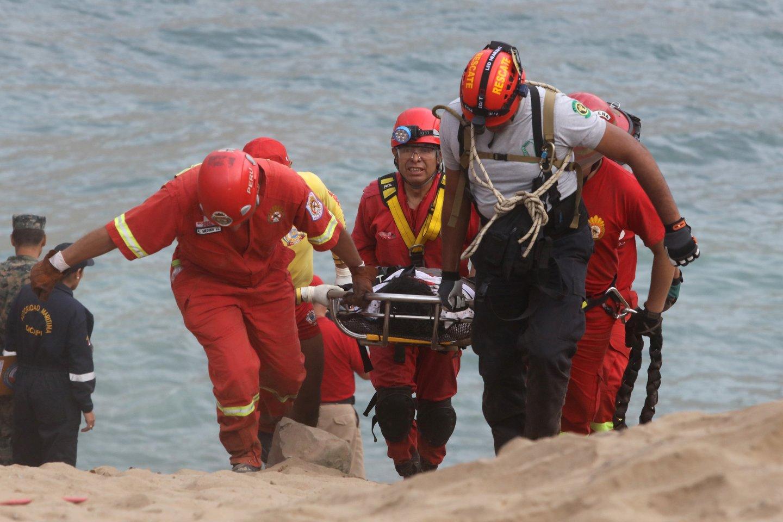 Peru per autobuso avariją žuvo mažiausiai 27 kalnakasiai.<br>Reuters/Scanpix nuotr.
