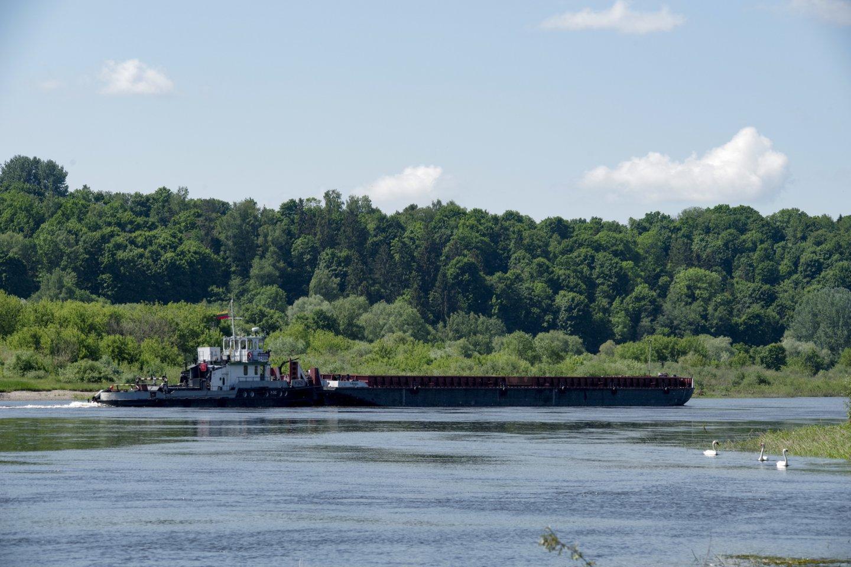 Jurbarke veikė vienas svarbiausių Nemuno upės uostų, kuris, susiklosčius istorinėms aplinkybėms, tapo ir pirmuoju Lietuvos jūrų uostu.<br>V.Ščiavinsko nuotr.