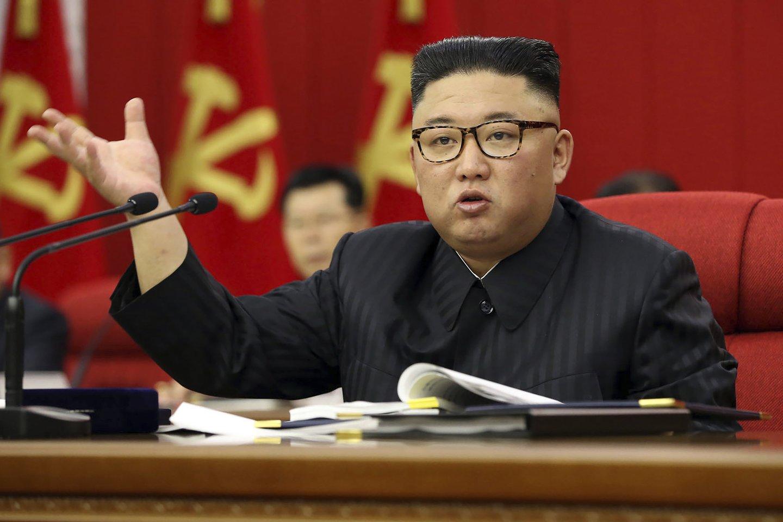 Kim Jong-unas.<br>AP/Scanpix nuotr.
