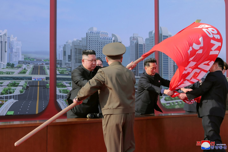 Šiaurės Korėjos lyderis Kim Jong-Unas.<br>Reuters/Scanpix nuotr.