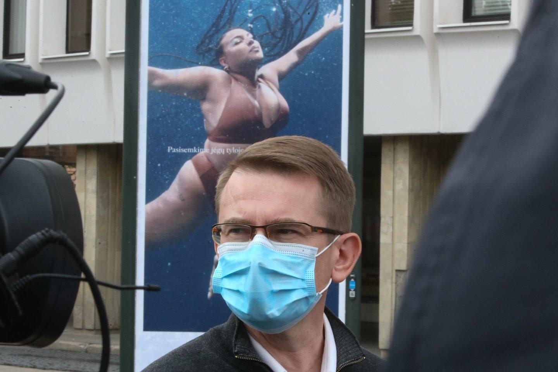 Sveikatos apsaugos ministras Arūnas Dulkys dviejų savaičių atostogų išeis rugpjūčio 9 dieną.<br>R.Danisevičiaus nuotr.