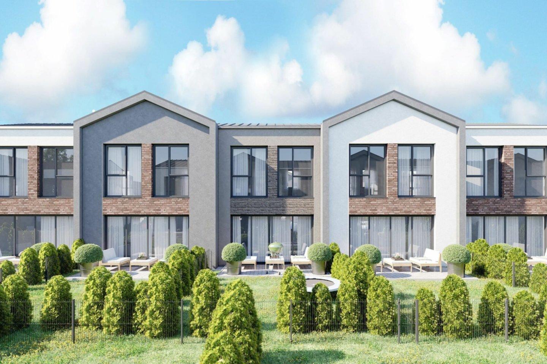 """UAB """"Emro Invest"""" pradėjo naujo kotedžų kvartalo """"Kotedžai Kalnėnuose"""" statybas ir pardavimus.<br>Vizual."""