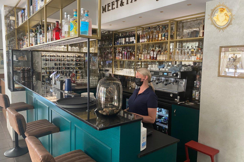 "Restoranas ""Meet &amp; Taste"" Kaune.<br>""Riebus katinas"" nuotr."
