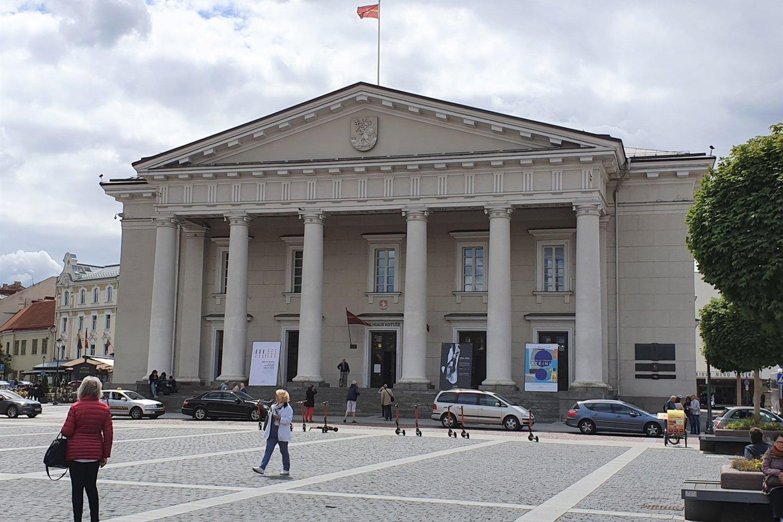 Vilniaus rotušė.<br>Wikipedia nuotr.
