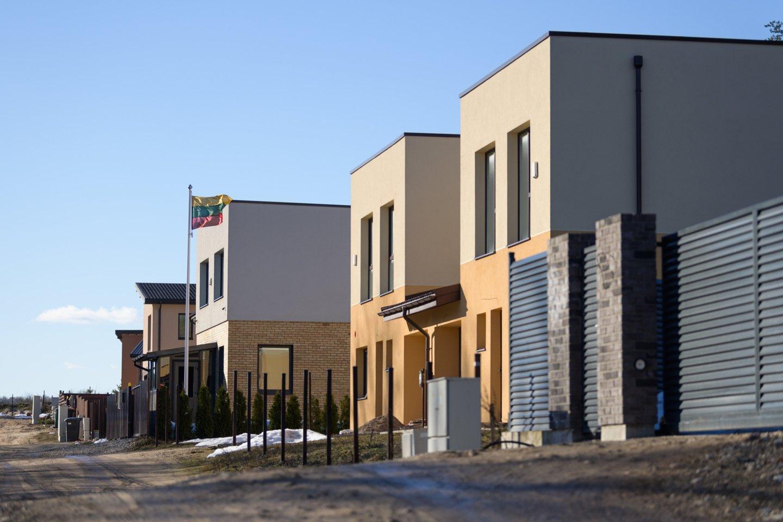 Išaugusios statybinių medžiagų kainos turi įtakos ne tik būstų kainoms: dalis statybų bendrovių gali patirti didelių nuostolių ar net bankrutuoti.<br>V.Skaraičio nuotr.