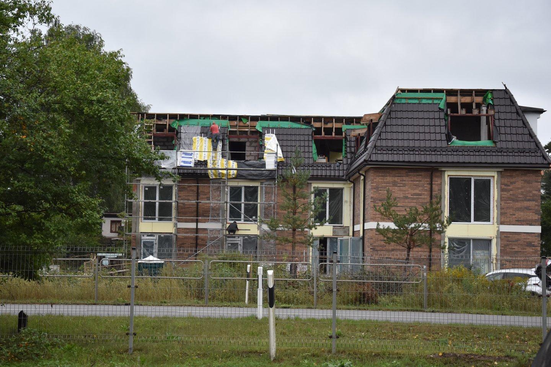 Išaugusios statybinių medžiagų kainos turi įtakos ne tik būstų kainoms: dalis statybų bendrovių gali patirti didelių nuostolių ar net bankrutuoti.<br>A.Srėbalienės nuotr.