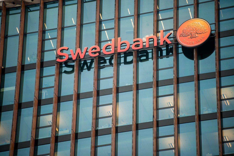 """Pirmadienį užfiksuoti """"Swedbank"""" paslaugų sutrikimai.<br>J. Stacevičiaus nuotr."""