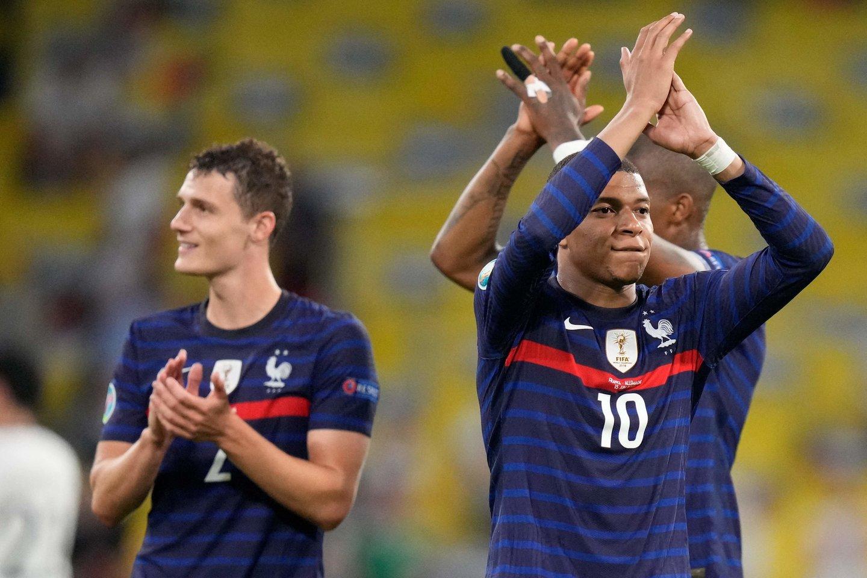 Prancūzijos rinktinės į čempionatą atvyko turėdama labai dideles ambicijas.<br>Reuters/Scanpix.com nuotr.